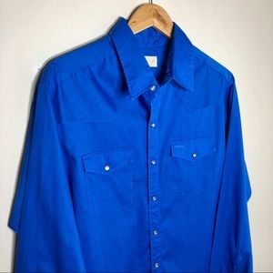 Other - Vintage Jason by Fantasia Long Sleeve Button Down